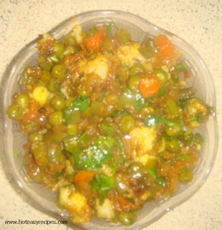 Mixed vegetable recipe hindi archives meghna cooking blog mixed vegetable recipe forumfinder Choice Image